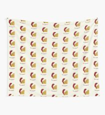 Merry Wafflemas Christmas Waffle Wall Tapestry