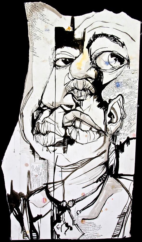 self portrait by Ariel Jackson