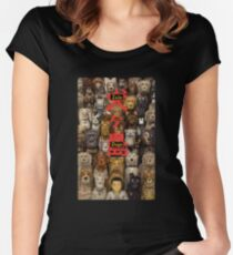 Isle of Dogs - Wes Anderson Women's Fitted Scoop T-Shirt