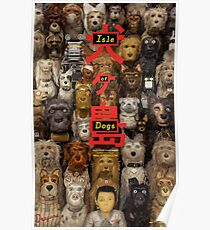 Isle of Dogs - Wes Anderson Poster