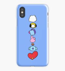 BTS Characters Vertical iPhone Case/Skin