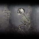 Dark Gothic Scroll Skeleton Oddity by ShaireProd
