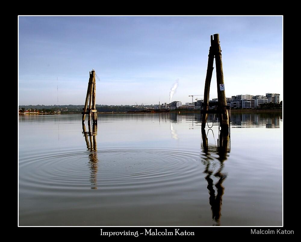 Improvising - Homebush Bay, NSW by Malcolm Katon
