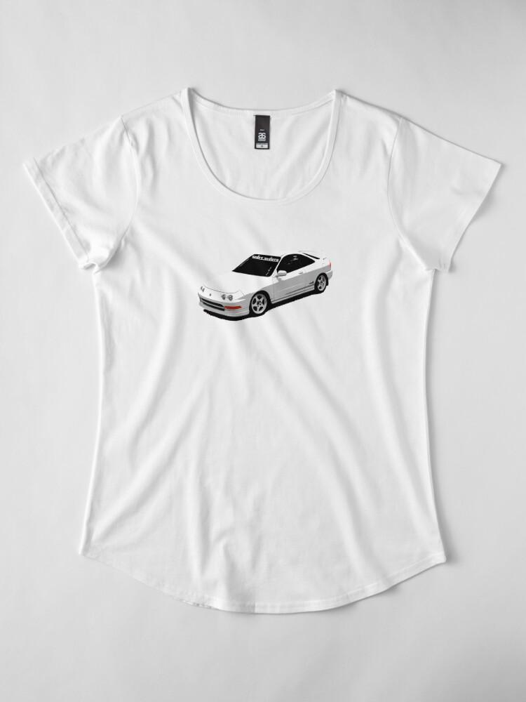 Alternate view of Lossed Profit Premium Scoop T-Shirt