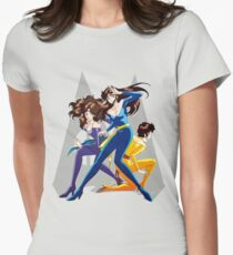 Cat's Eye - You're under arrest! Women's Fitted T-Shirt