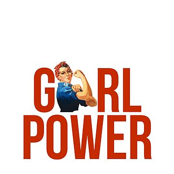GIRL POWER Rosie The Riveter - Estilo 2 de maddisonegreen