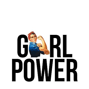 GIRL POWER Rosie The Riveter - Estilo 3 de maddisonegreen