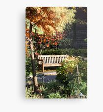 SECLUDED Metal Print