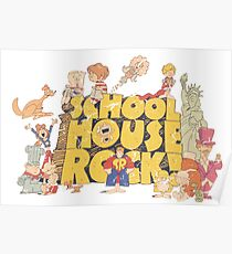 School House Rock-Distressed Poster