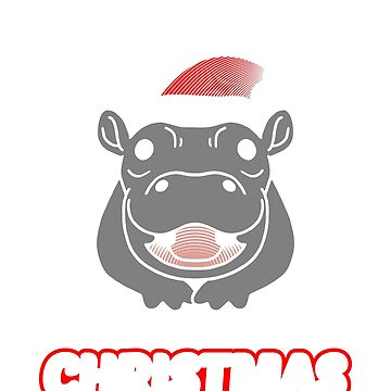 Hippo hippopotamus Saying   I Want A Hippopotamus for Christmas   Funny Christmas sweater as a gift for Christmas by ArtTeez