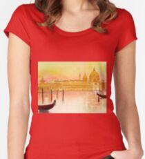 Niente Azzurro Women's Fitted Scoop T-Shirt