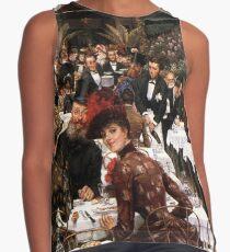 Vintage James Tissot - The Artist's Wives 1885 Fine Art Contrast Tank