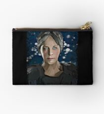 short-haired psycho lady Studio Pouch