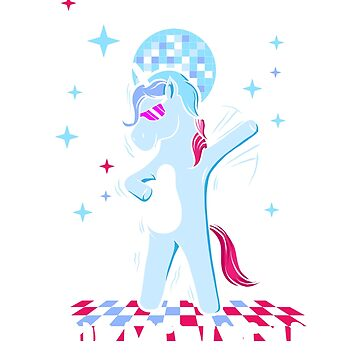 Disco Dabbing Dab Unicorn on New Year's Eve Party | Bling in the New Year | Funny Christmas Sweater as a Gift by ArtTeez