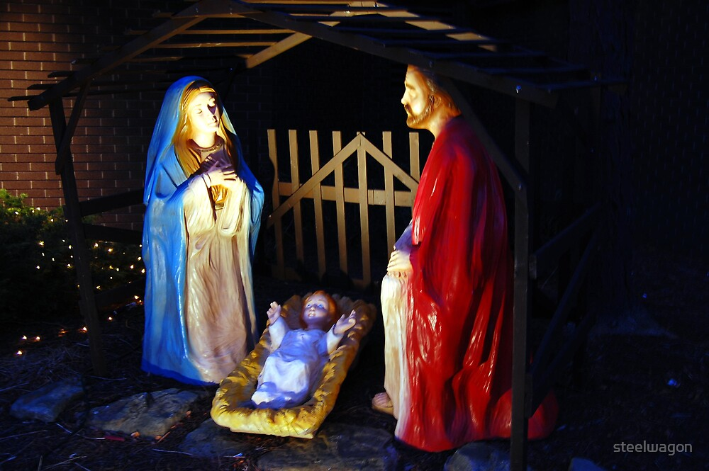 Away In A Manger by steelwagon