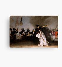 Lienzo Vintage John Singer Sargent - El-Jaleo 1882 Bellas Artes