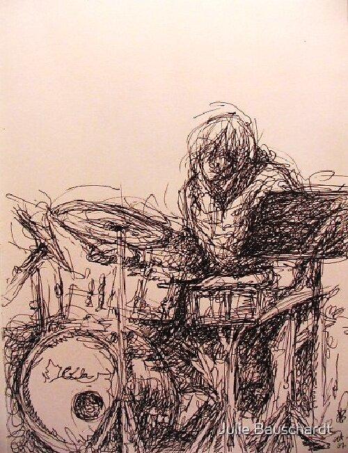 drummer energy by Julie Bauschardt