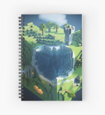 Minecraft Spiral Notebook