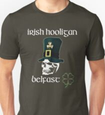 irish hooligan belfast - skull T-Shirt