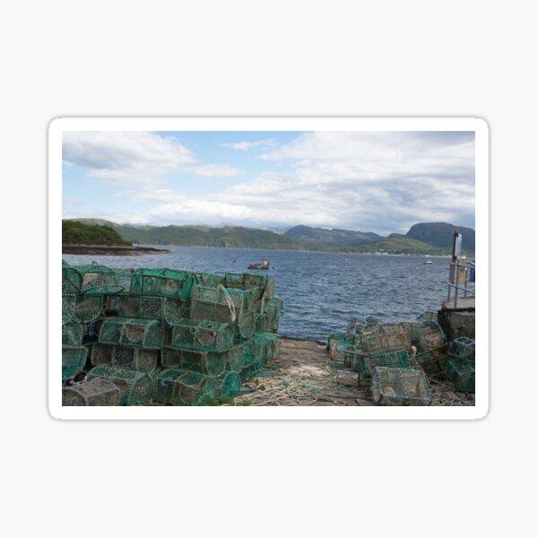 Creels at Plockton Sticker