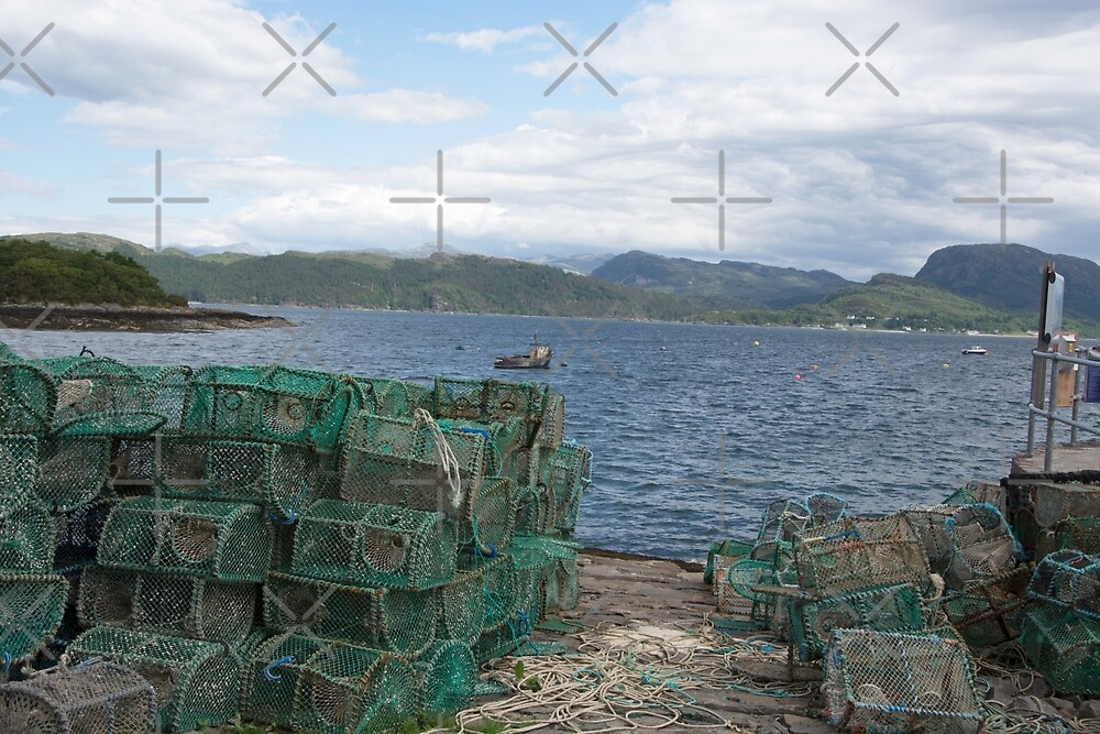 Creels at Plockton by SiobhanFraser