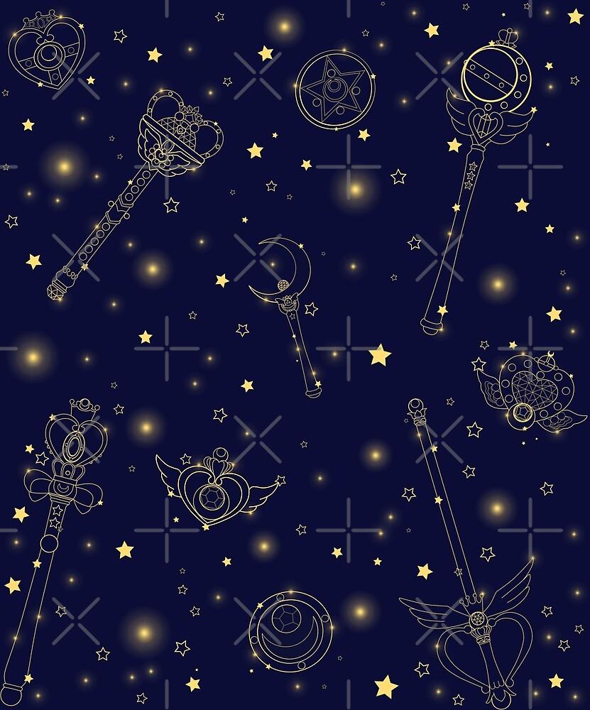 Sailor Moon Constellation by kiran-freak