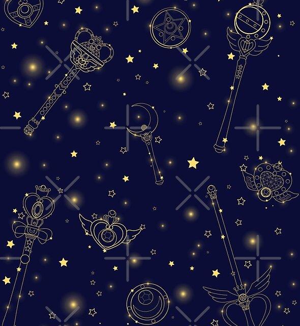 Sailor Moon Galaxy Calender by kiran-freak