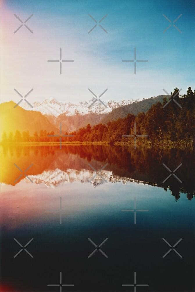 Lake Matheson by Karin Elizabeth