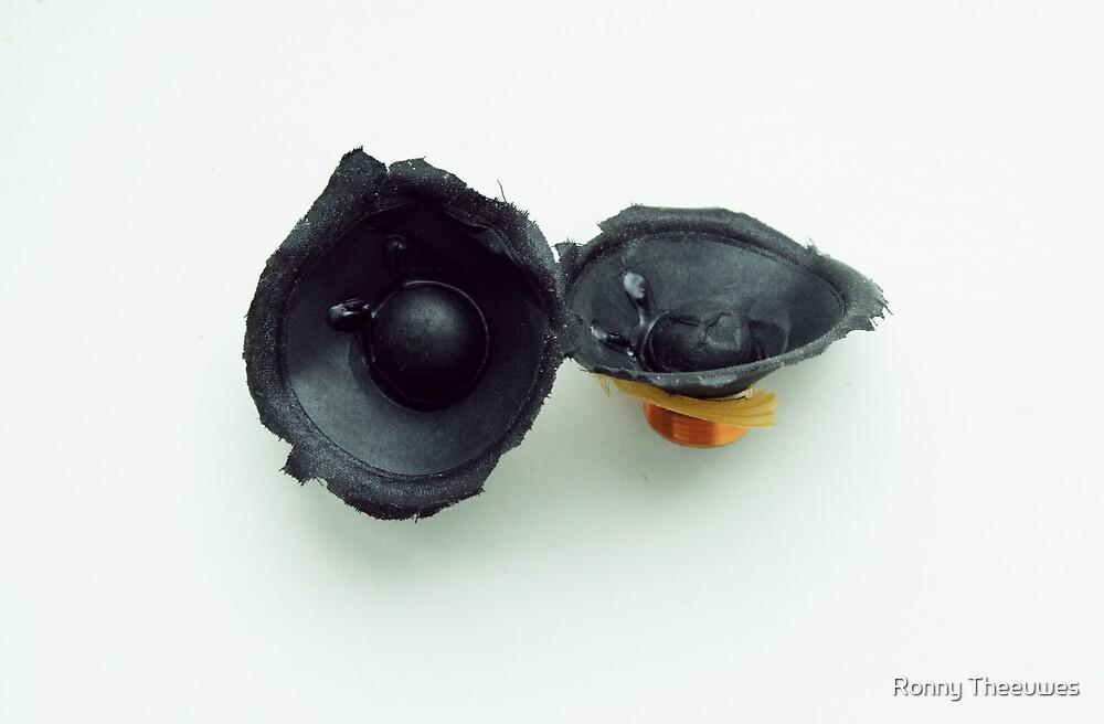 Broken Speakers by Ronny Theeuwes