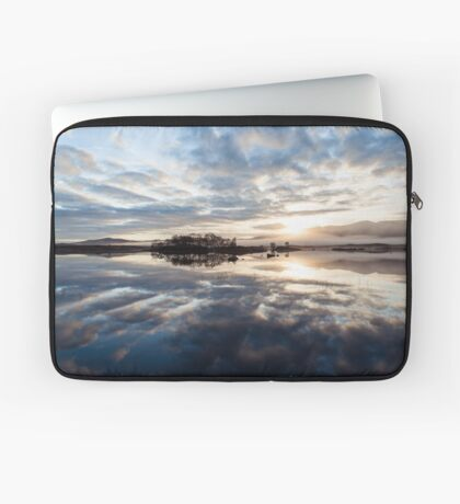 Explosion In A Cloud Factory Laptop Sleeve