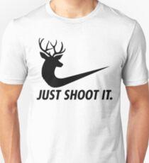 Camiseta ajustada ust Dispárales Funny Hunting Nike Deer Fashion