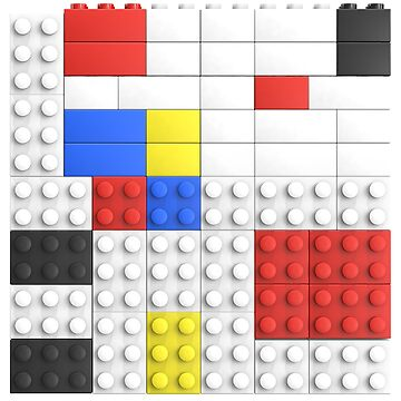 Mondrian Toy Bricks by chwatson