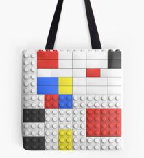 Mondrian Toy Bricks Tote Bag
