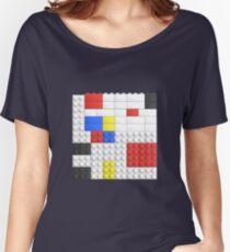 Mondrian Toy Bricks Women's Relaxed Fit T-Shirt