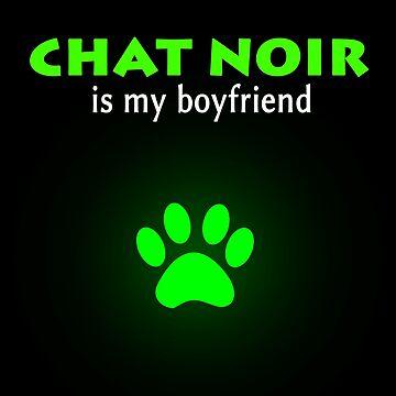 Chat Noir is my boyfriend - Miraculous Ladybug by oceaneplrd