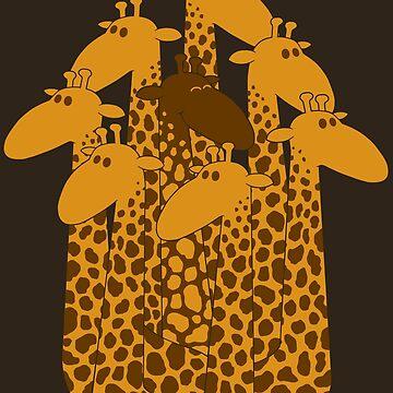 The black giraffe of the family by jcmaziu