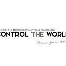 control the world - alexander bell by razvandrc