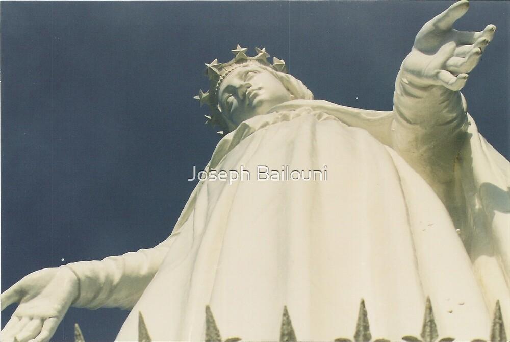 Our Lady Of Lebanon by Joseph Bailouni