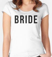 BRIDE Women's Fitted Scoop T-Shirt