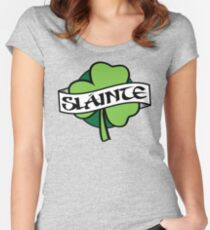 Slainte  Women's Fitted Scoop T-Shirt