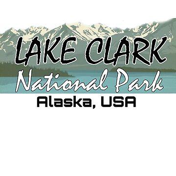 Parque Nacional Lago Clark Viaje Parque Estatal Alaska USA de Cbsbundles
