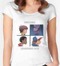 Stranger Things Nostalgiaz - Demogorgon Days T Shirt Women's Fitted Scoop T-Shirt