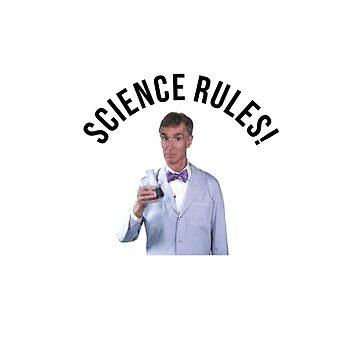 Bill Nye- Science Rules by savagedesigns