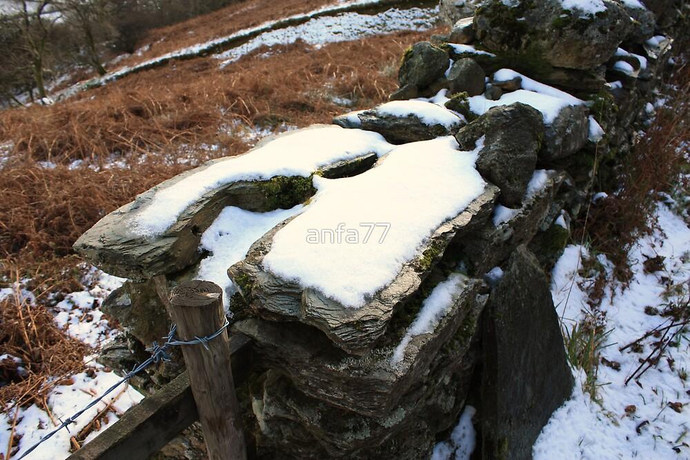 snowy wall by anfa77