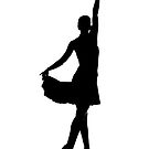 Latin dancer silhouette by GemaIbarra
