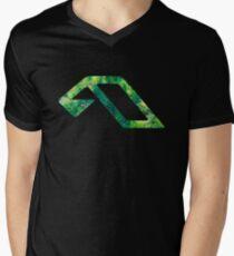 Anjunabeats Foliage Men's V-Neck T-Shirt