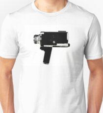 8mm Movie Camera Unisex T-Shirt