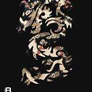 Chinese Tribal Dragon by David Avatara