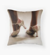 Dancing feet Throw Pillow