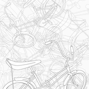 Bikes & bikes & Bikes by daveyt